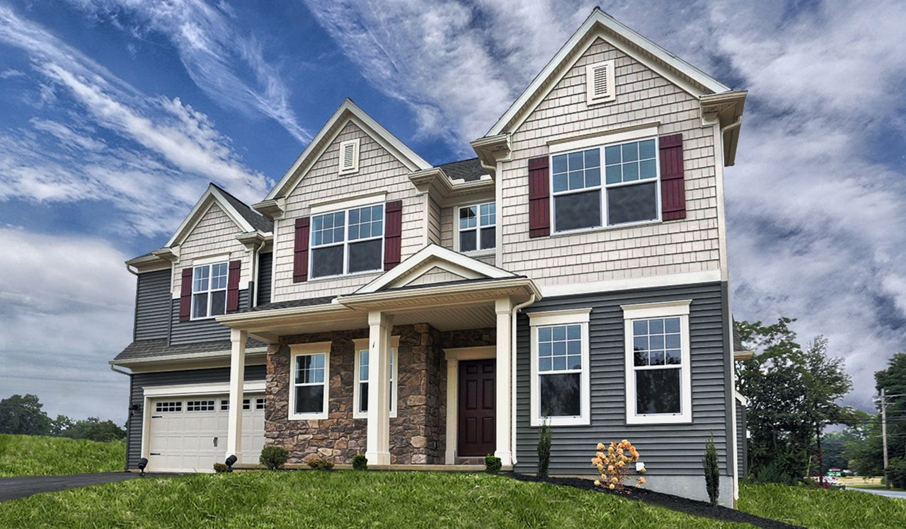 The Darien Model by Landmark Homes