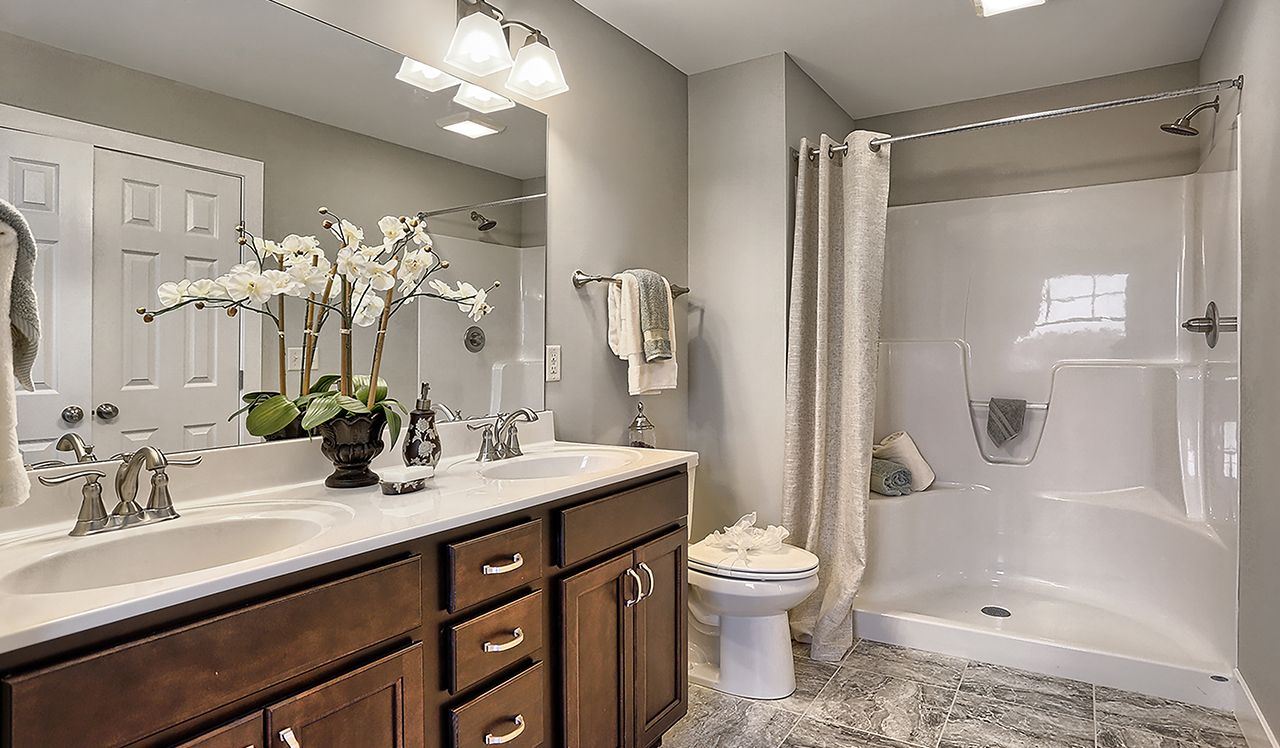 The Darien Owner's Bathroom