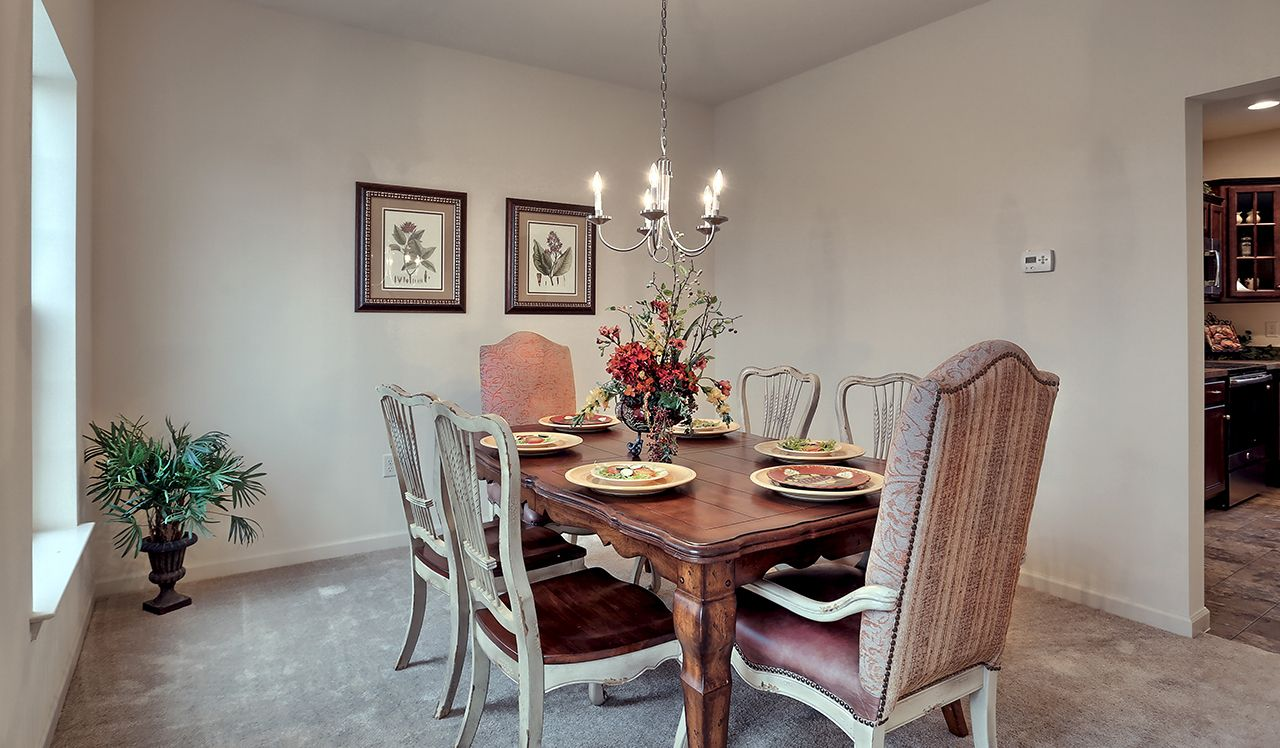 Oakmont Model Dining Room