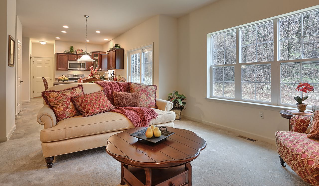 Oakmont Model Family Room