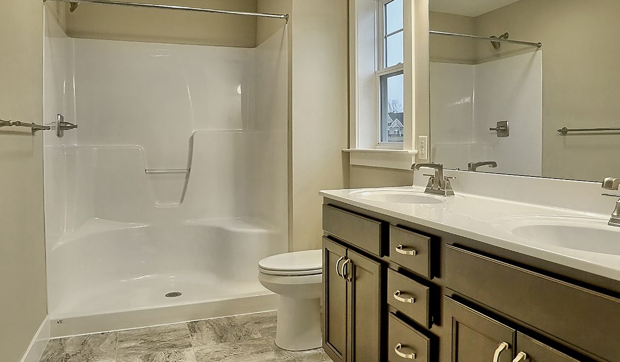 The Darien Owner's Bathroom