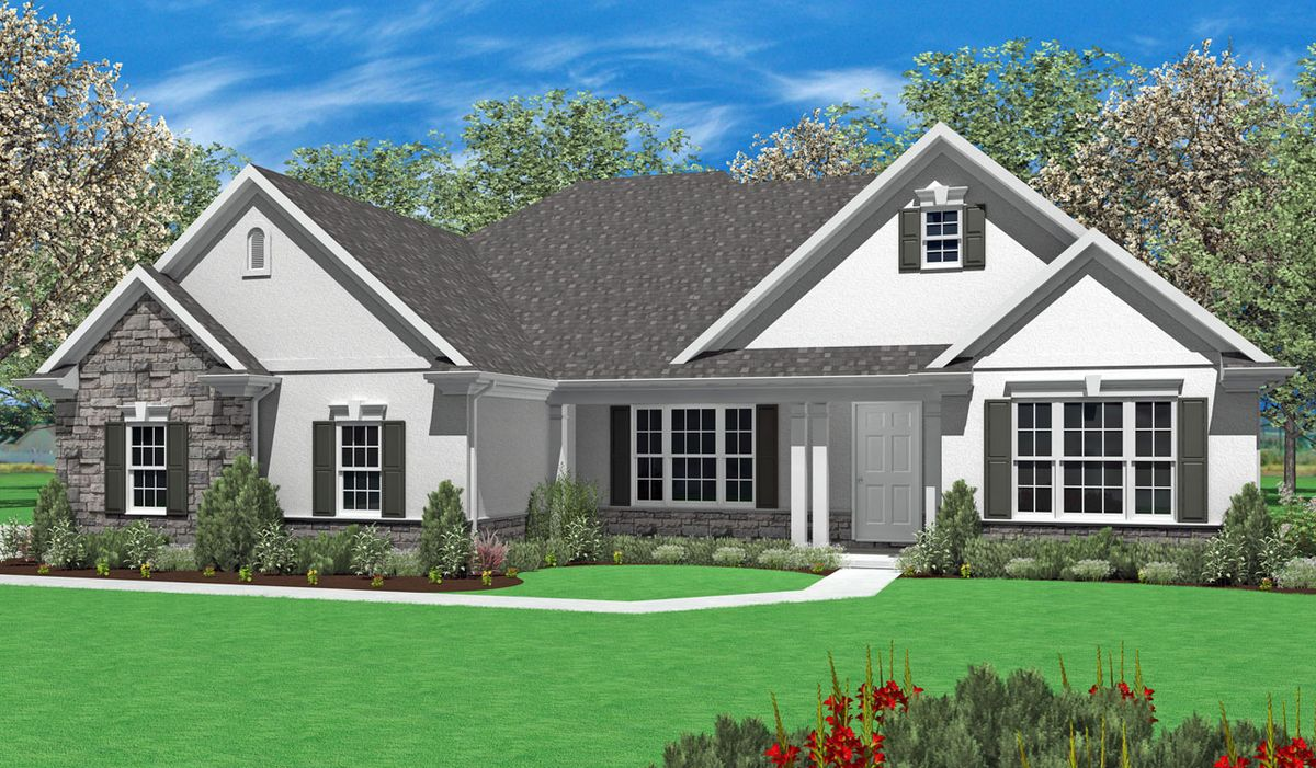 Heron home plan by landmark homes in available plans for Landmark home plans