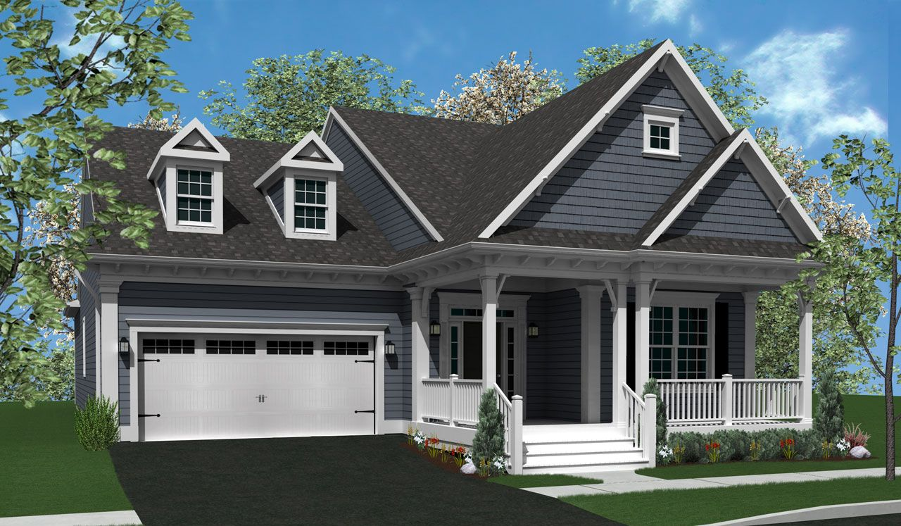 Exterior featured in The Norfolk By Landmark Homes  in Lancaster, PA