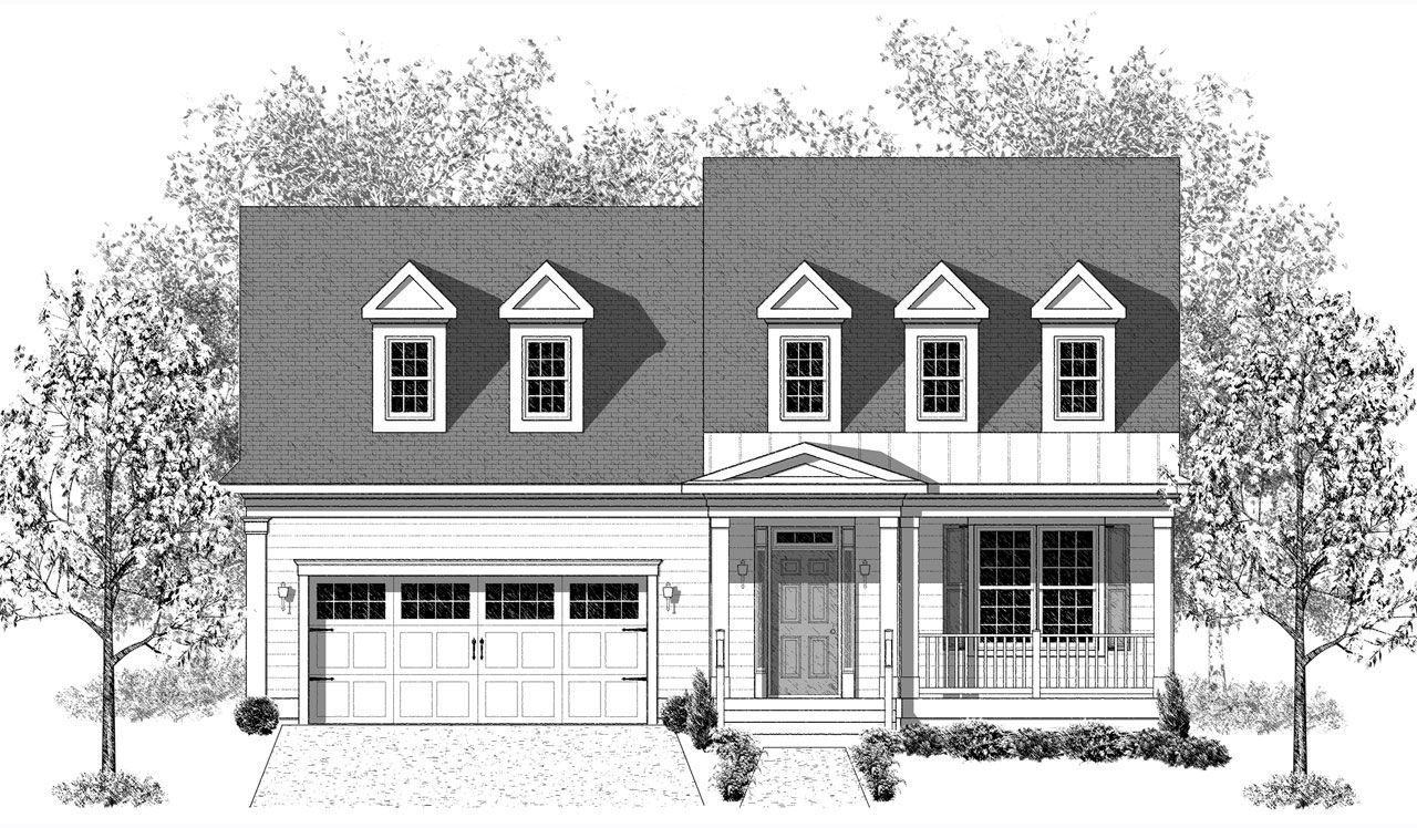 Exterior featured in The Plymouth By Landmark Homes  in Lancaster, PA