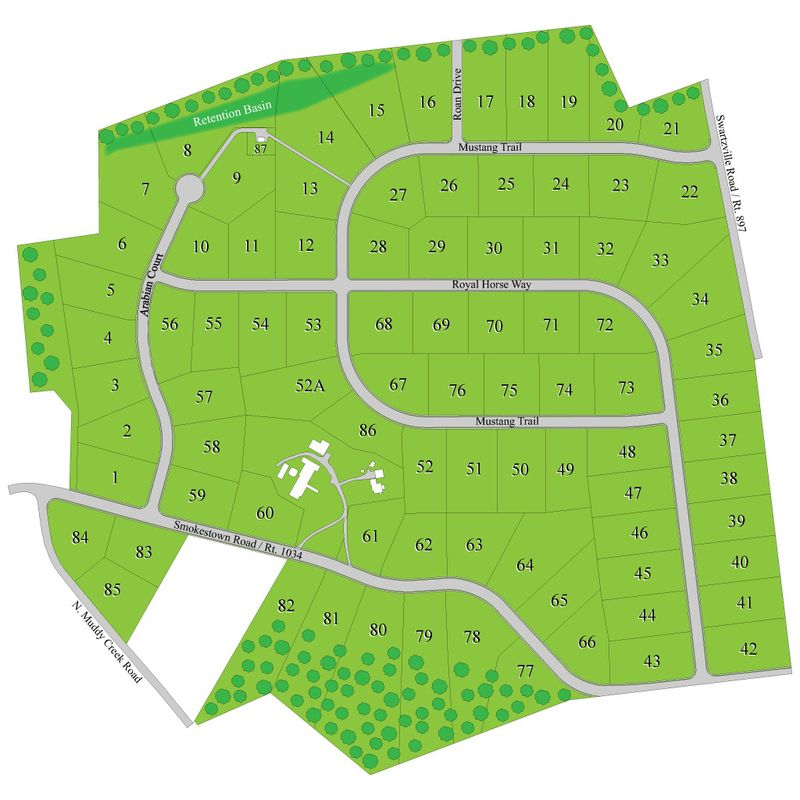 New Homes On Large Homesites In Lancaster