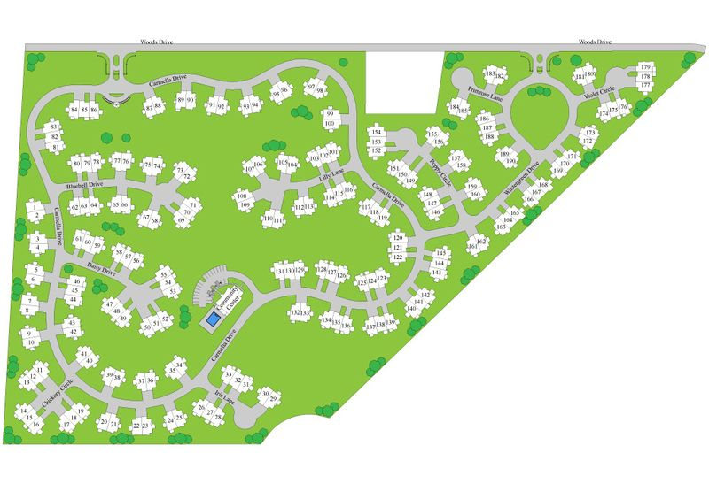 New 55+ Homes for Sale in Mechanicsburg PA
