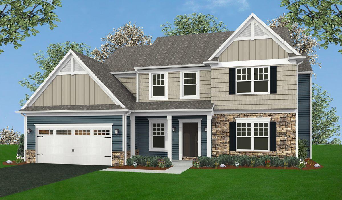 Glenwood home plan by landmark homes in available plans for Glenwood house