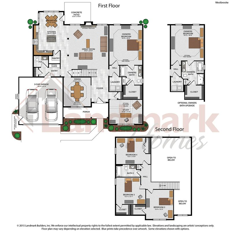 Westbrooke Floor Plan