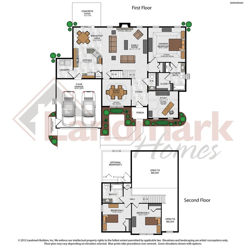 Jamestown Floor Plan