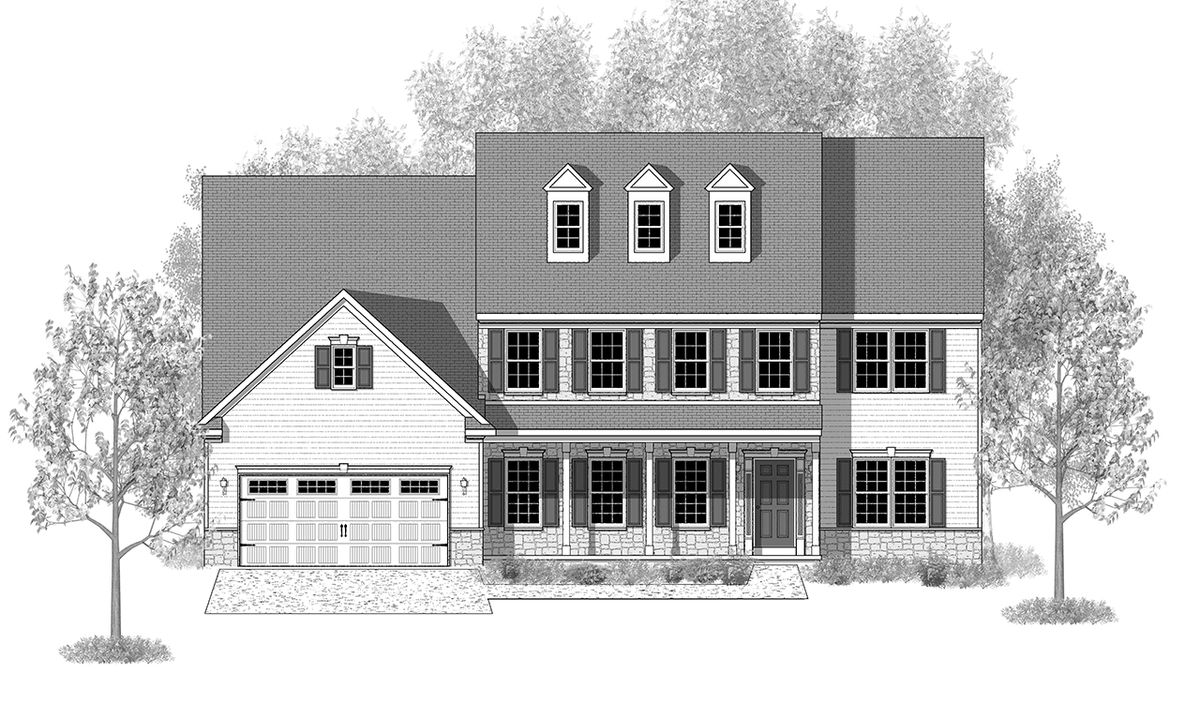 stratford home plan by landmark homes in available plans c elevation