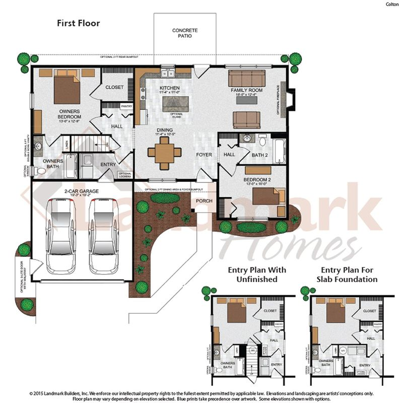 Colton Floor Plan