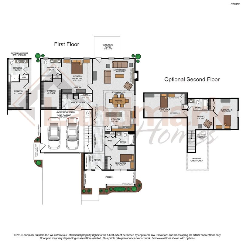 Atworth Floor Plan