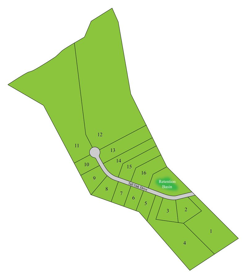 Tall Oaks Sitemap