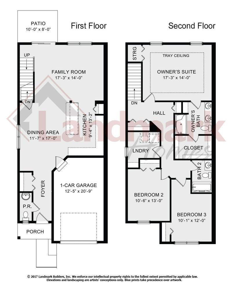 Ashby home plan by landmark homes in hanbury court for Ashby house plan