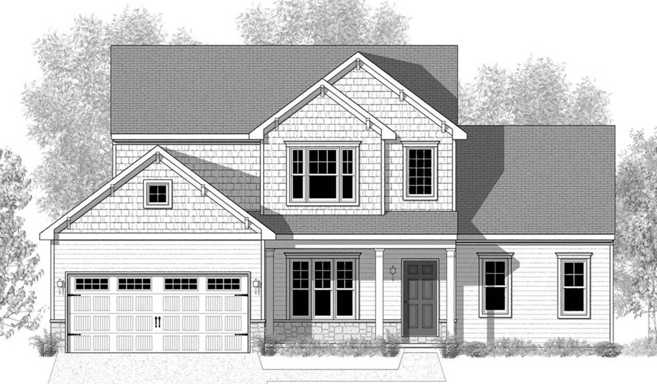 Exterior featured in the Fenmore By Landmark Homes  in Harrisburg, PA