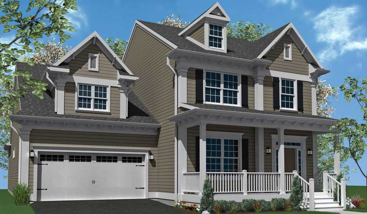 Brentwood - Elevation A