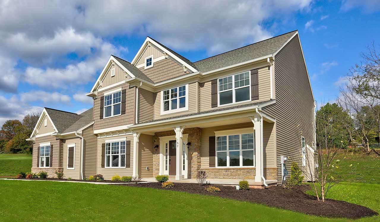 Wesley   Hawk Valley Estates: Denver, Pennsylvania   Landmark Homes