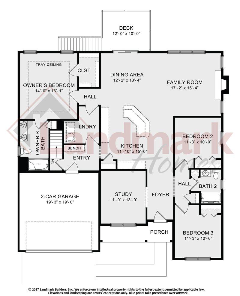 Bennett Floor Plan