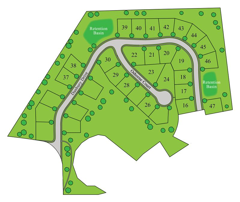 Danbury Glen Sitemap