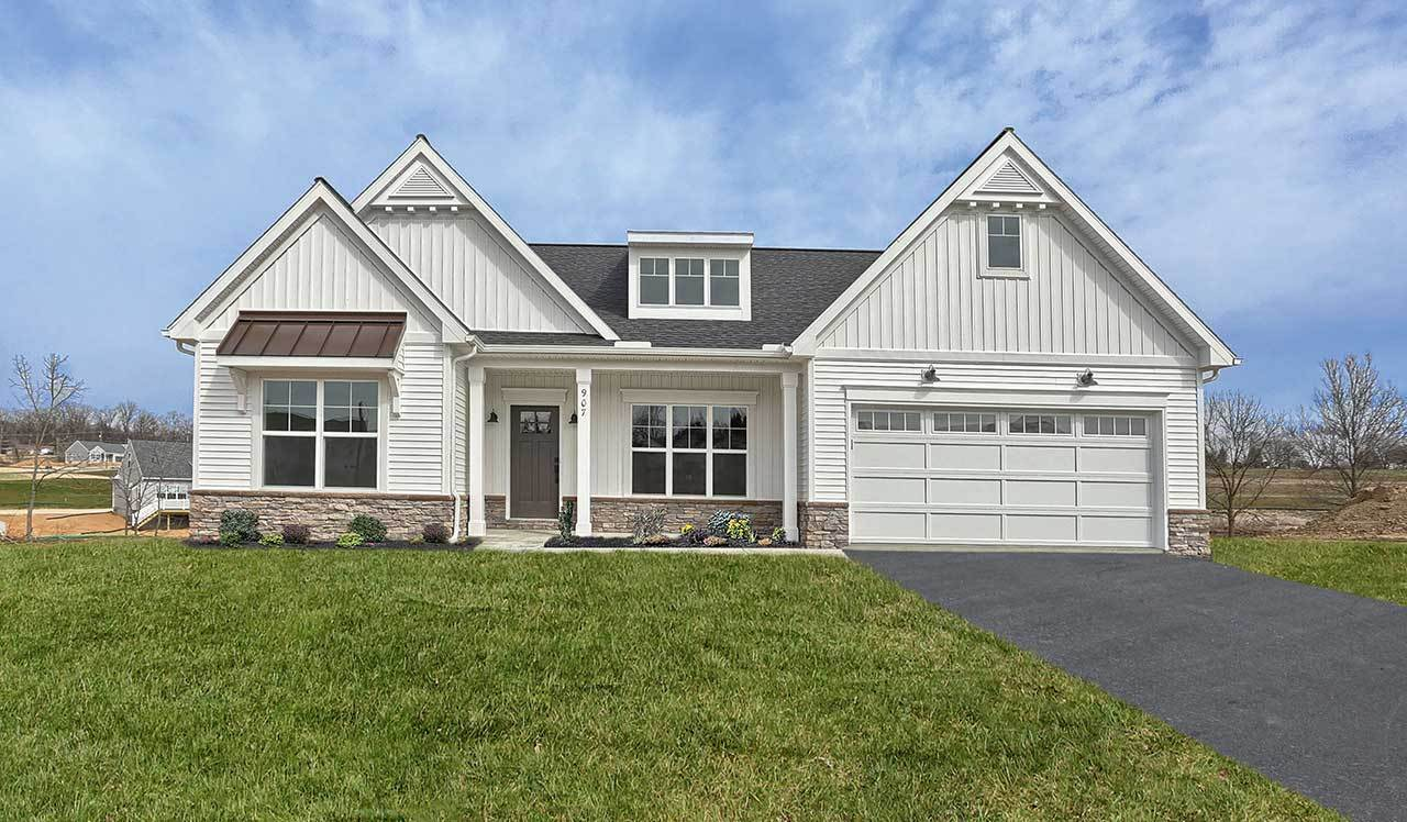Exterior featured in the Northfield  By Landmark Homes  in Harrisburg, PA