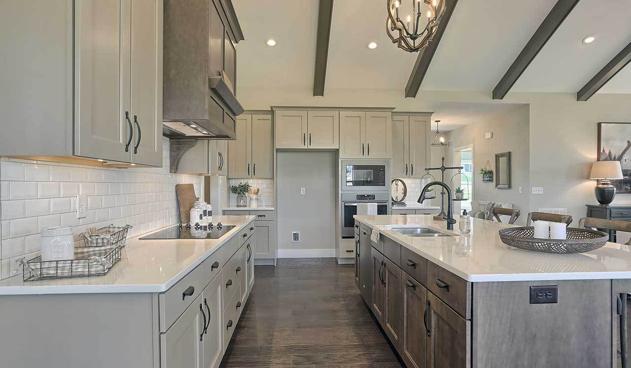 Kitchen featured in the Northfield  By Landmark Homes  in Harrisburg, PA