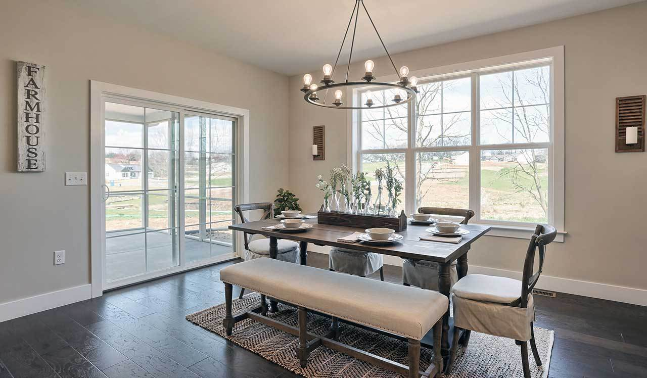 Living Area featured in the Northfield  By Landmark Homes  in Harrisburg, PA