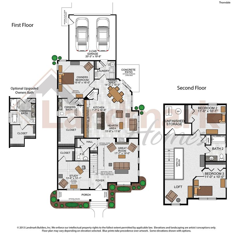 Thorndale Floor Plan