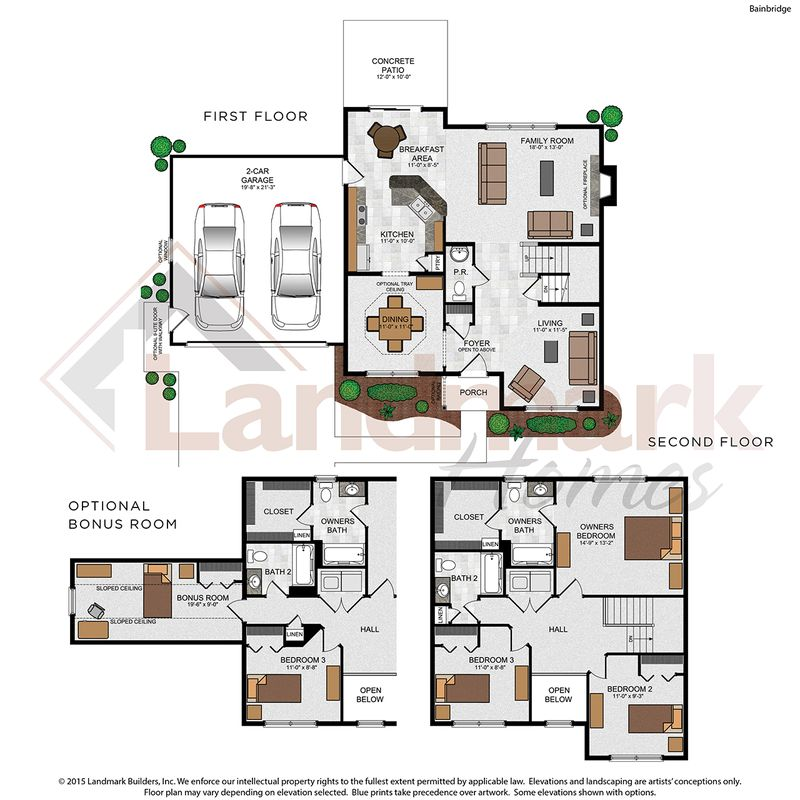 Bainbridge Floor Plan
