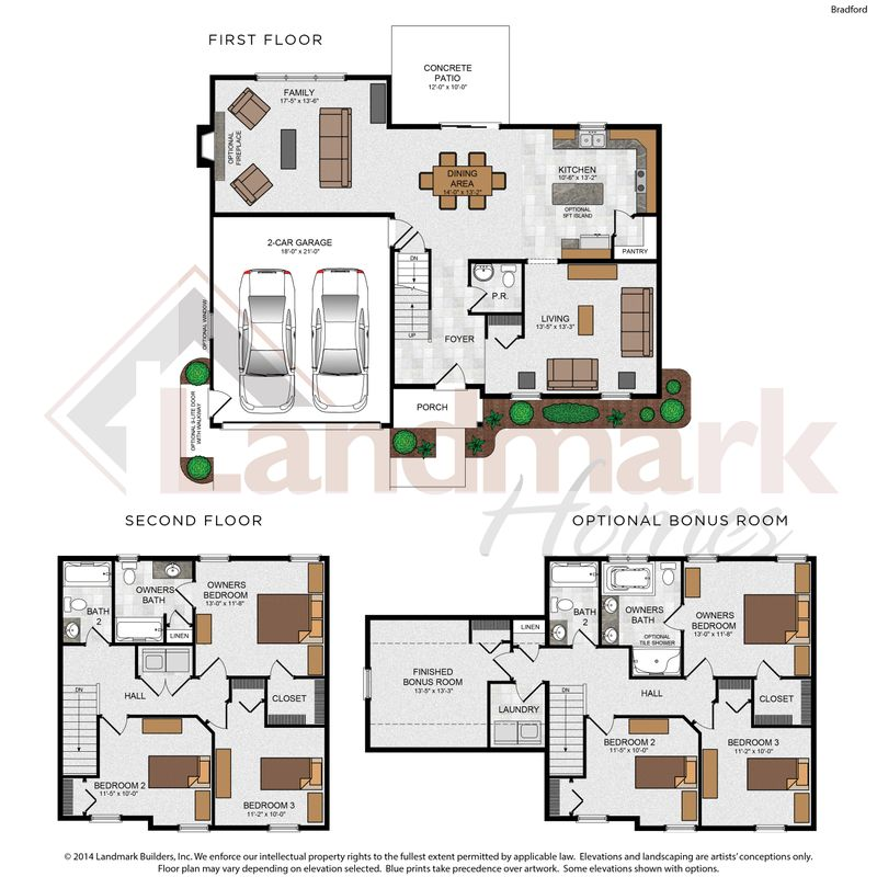 Bradford Floor Plan