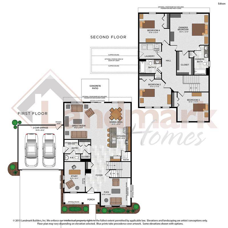 Edison Floor Plan