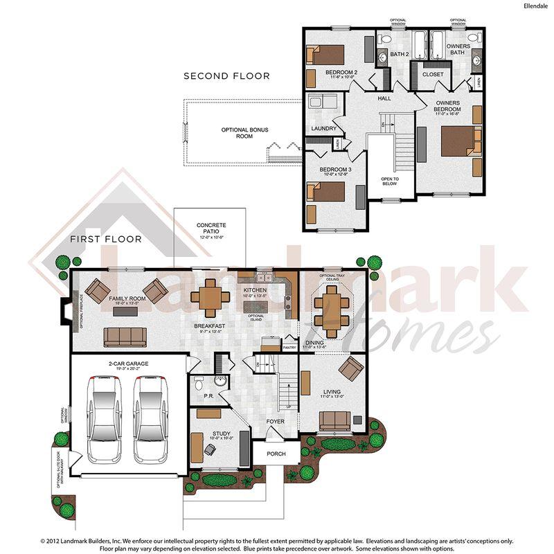 Ellendale Floor Plan