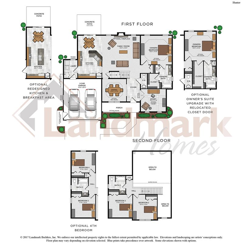 Hunter Floor Plan
