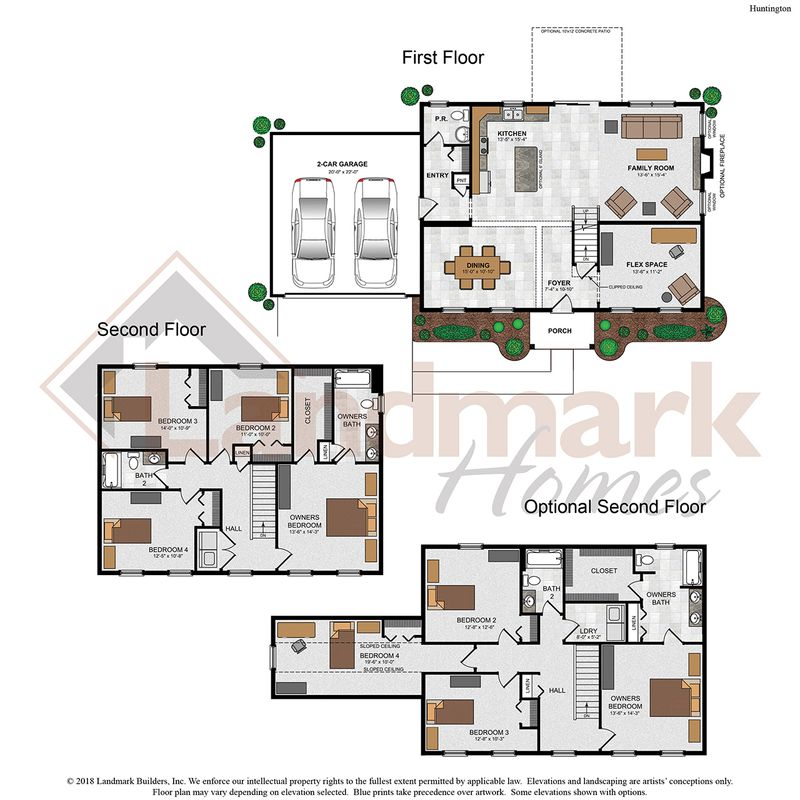 Huntington Floor Plan