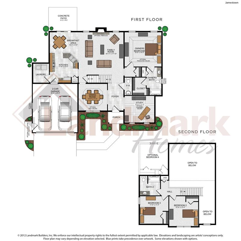 Jamestown Floor Plan