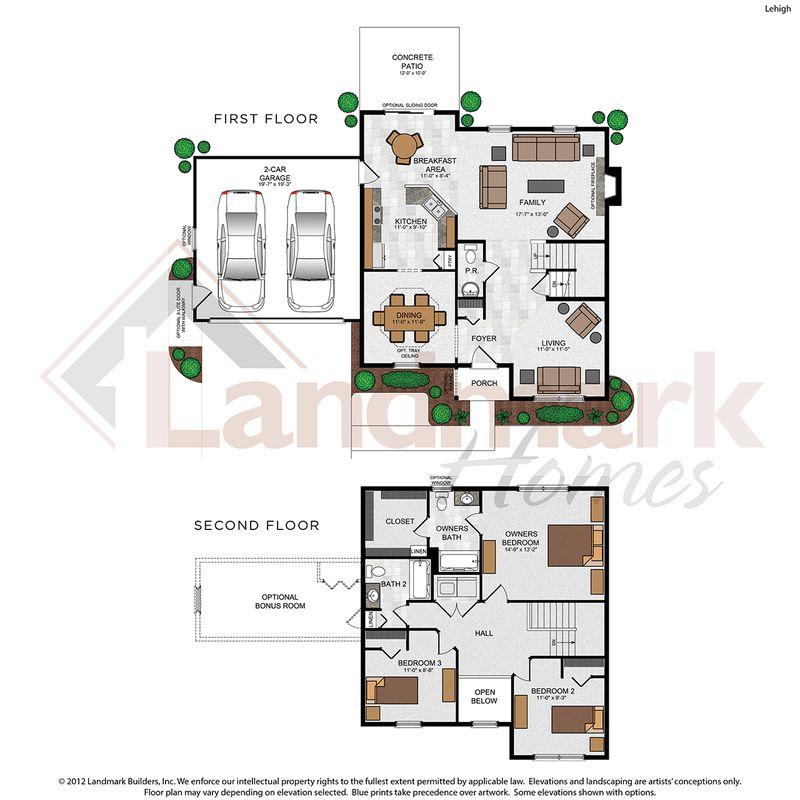 Lehigh Floor Plan