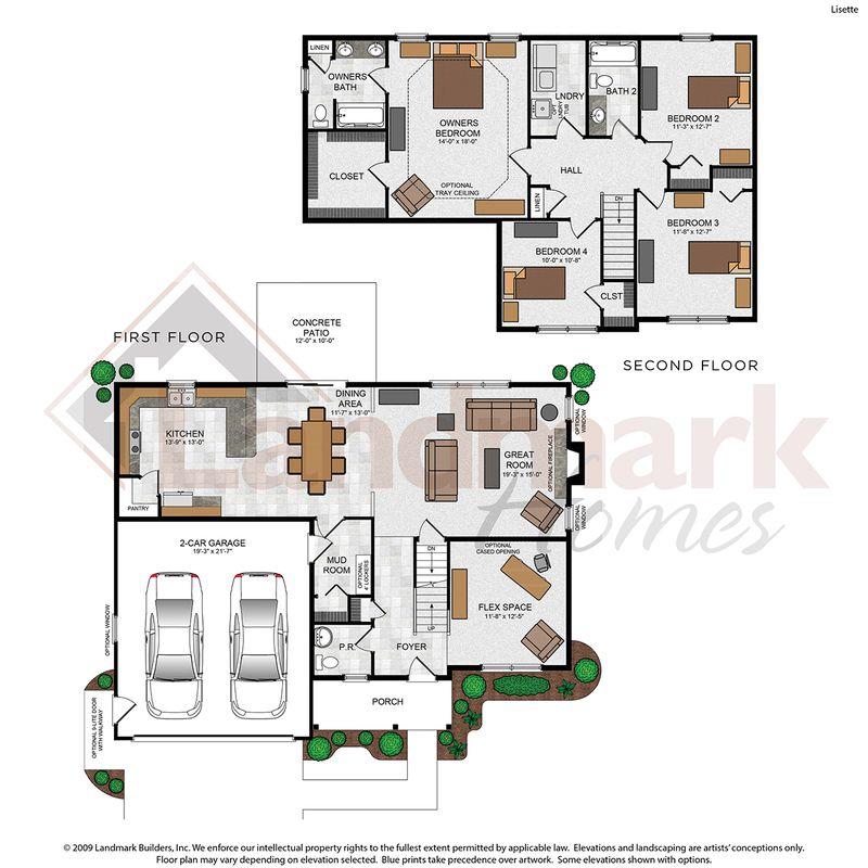 Lisette Floor Plan
