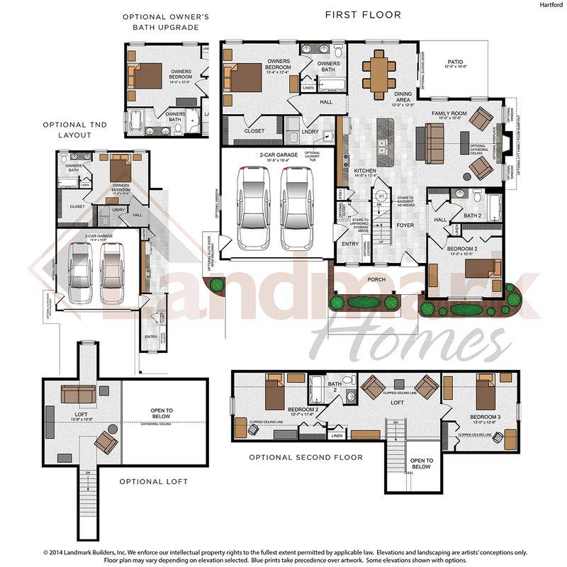 Hartford Floor Plan