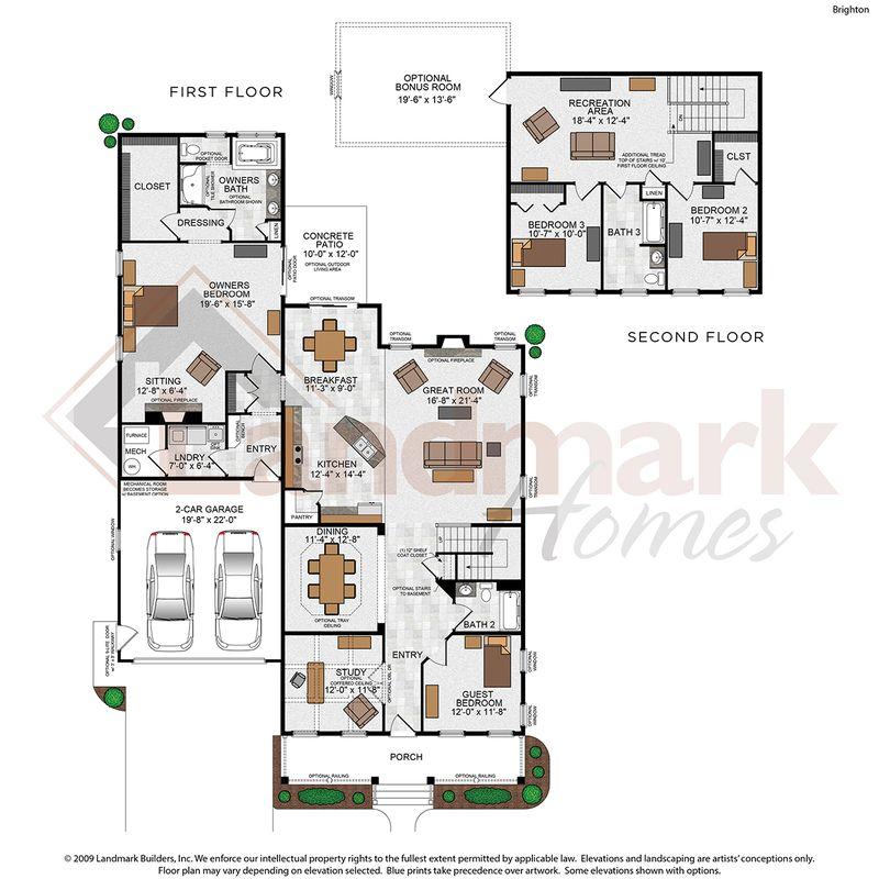 Brighton Floor Plan