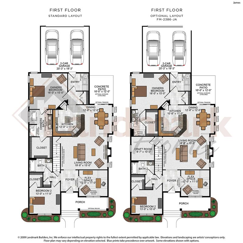James Floor Plan