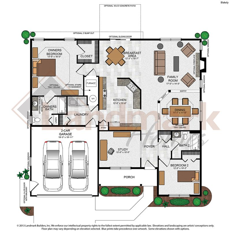 Blakely Floor Plan
