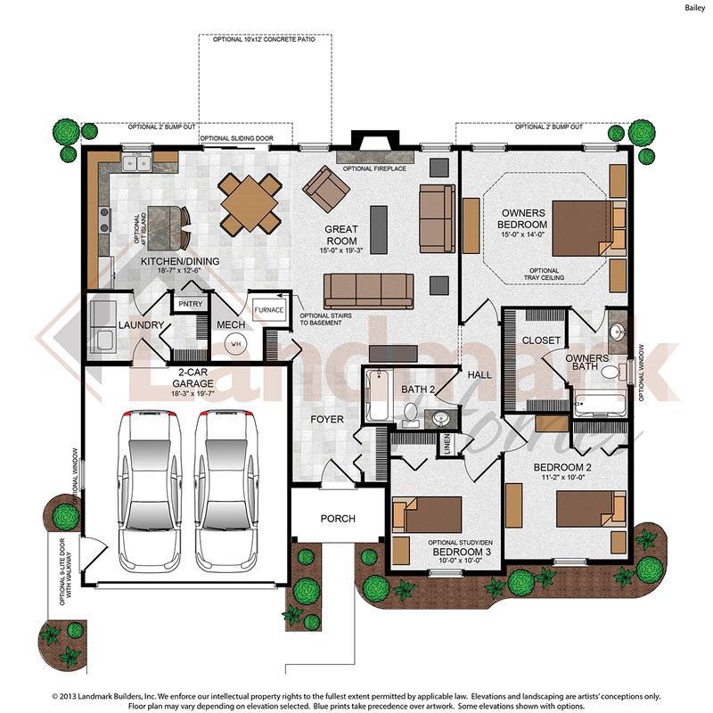 Bailey Floor Plan