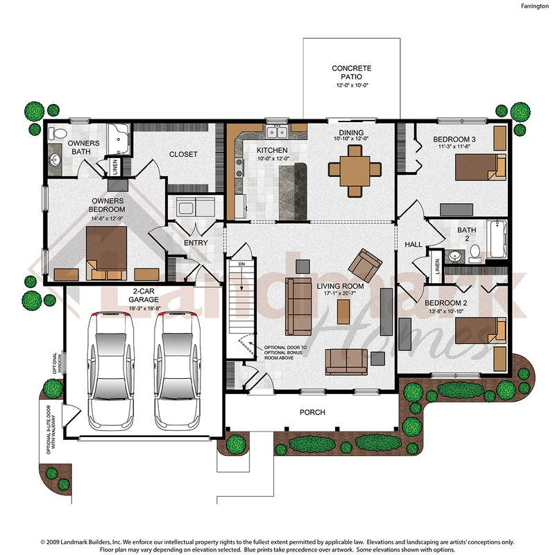 Farrington Floor Plan