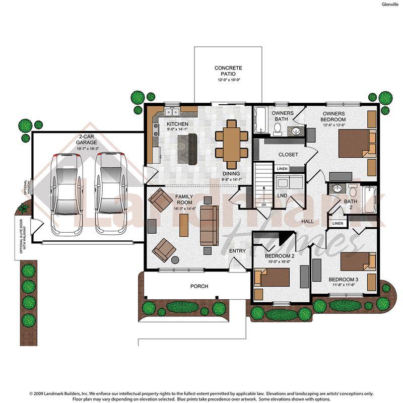 Glenville Floor Plan