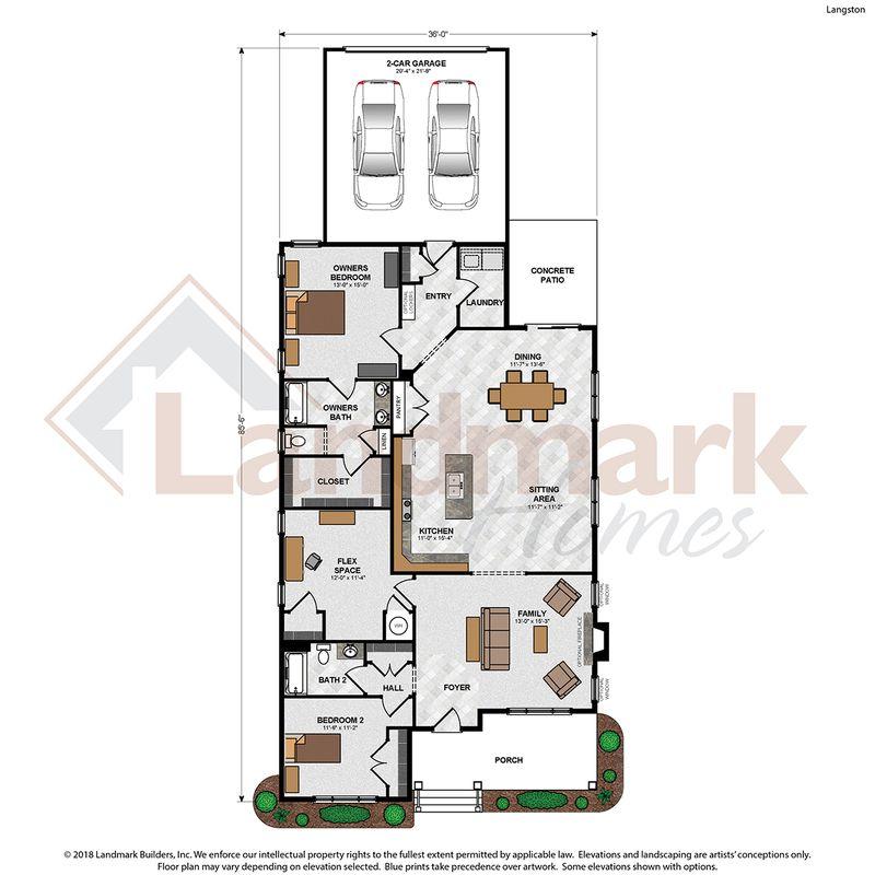 Langston Floor Plan