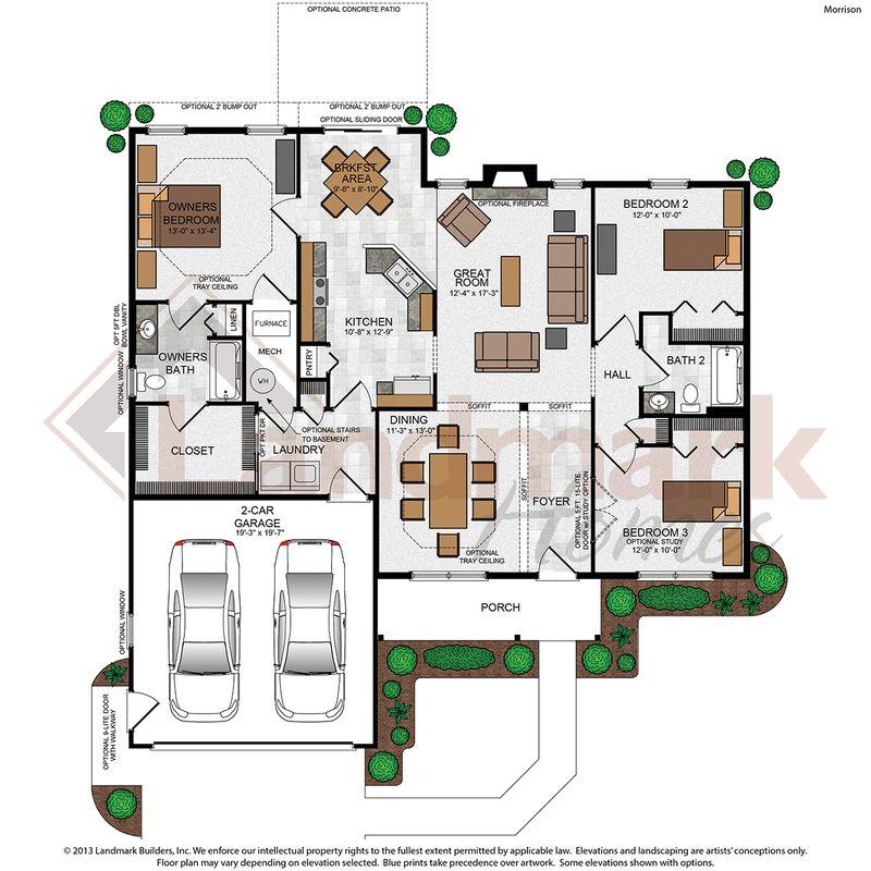 Morrison Floor Plan