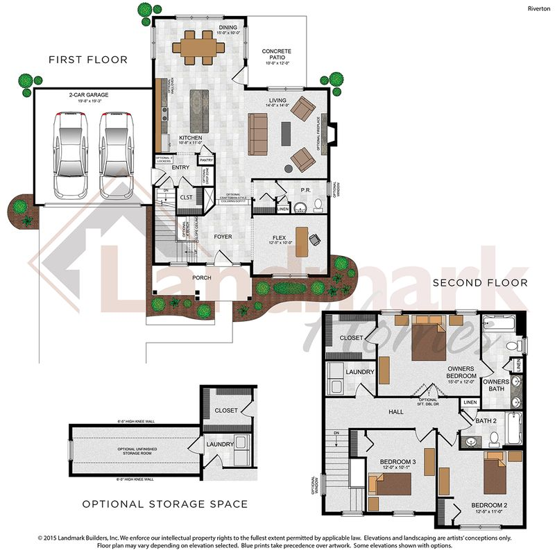 Riverton Floor Plan
