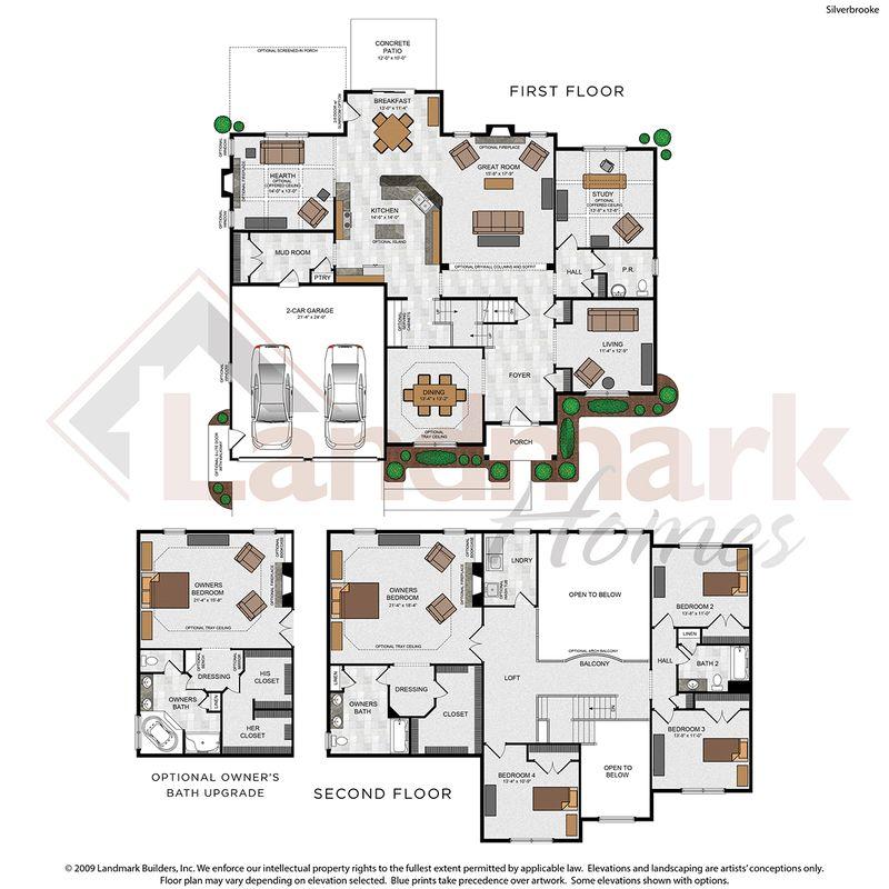 Silverbrooke Floor Plan