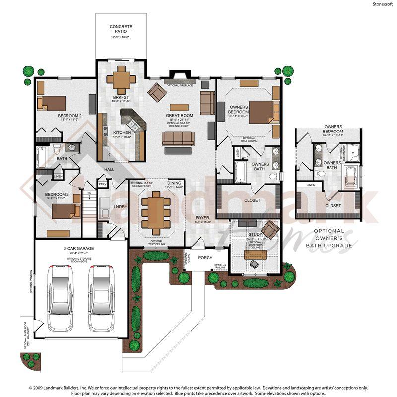 Stonecroft Floor Plan