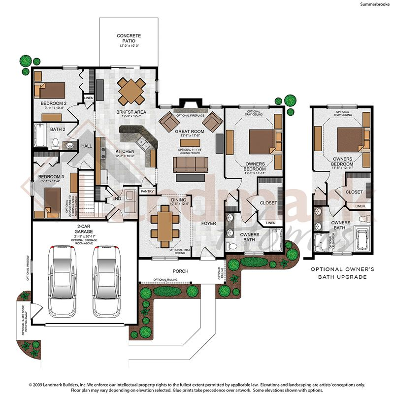 Summerbrooke Floor Plan
