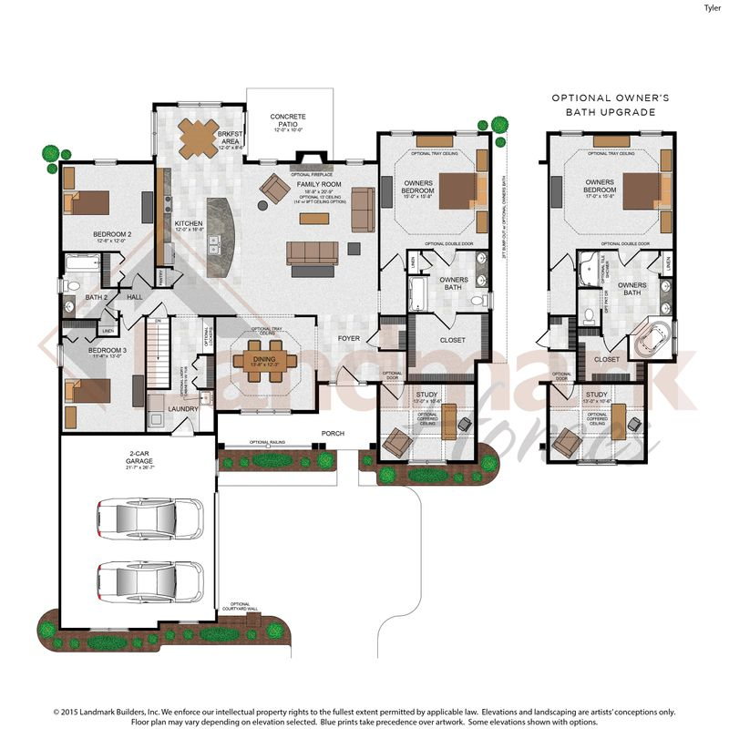Tyler Floor Plan